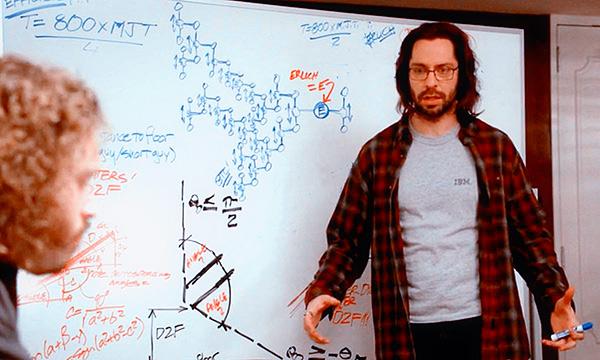 """白板上编程 ———— 来自 HBO 频道的剧集,""""硅谷"""""""
